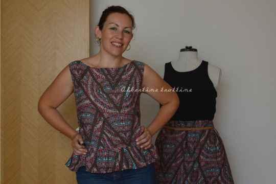 blouse peplum 4
