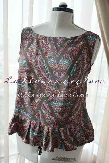 blouse peplum