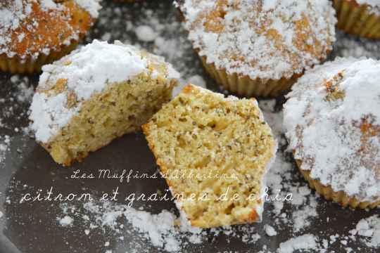 muffin citron chia