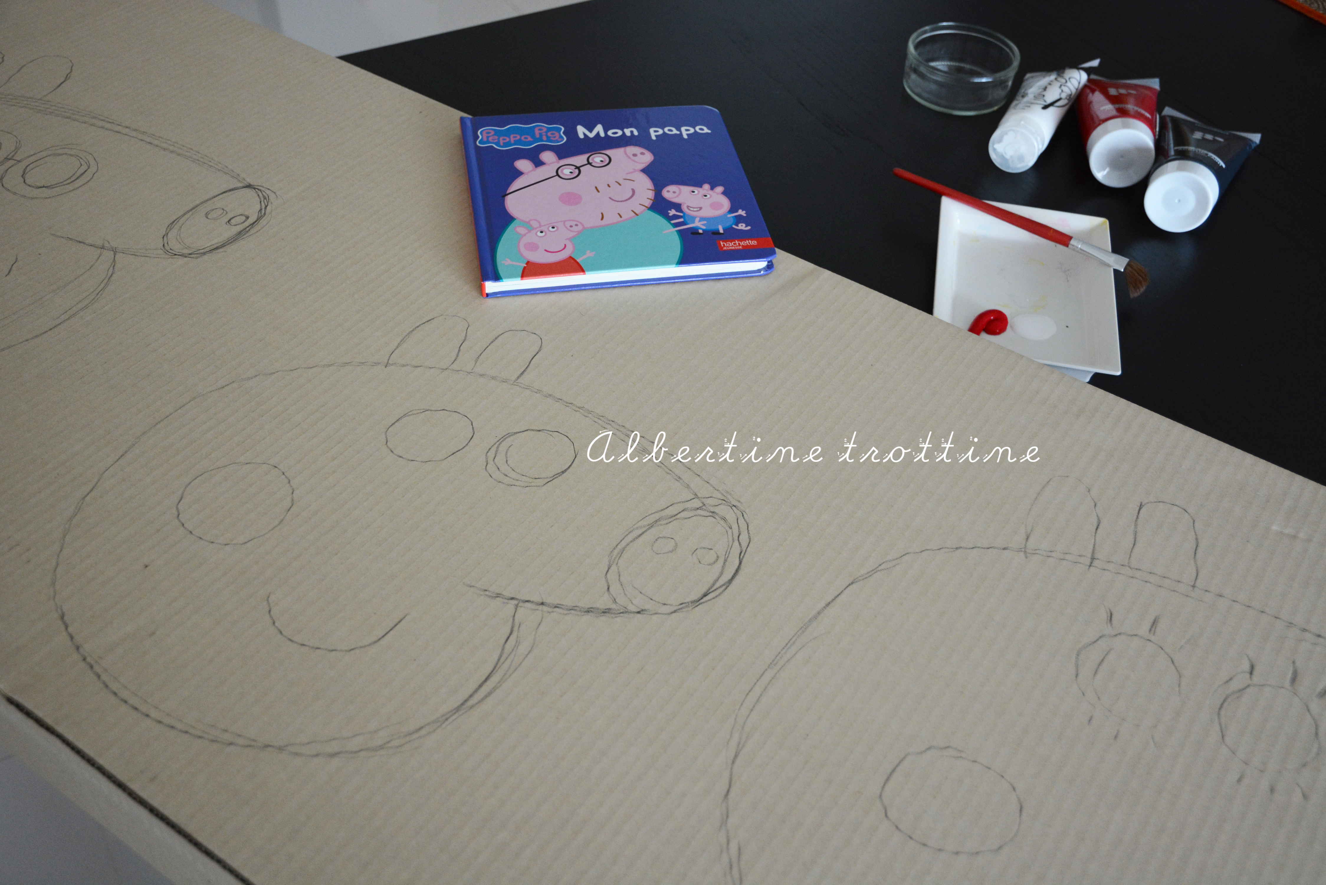 Dessiner Des Masques Peppa Pig Albertine Trottine